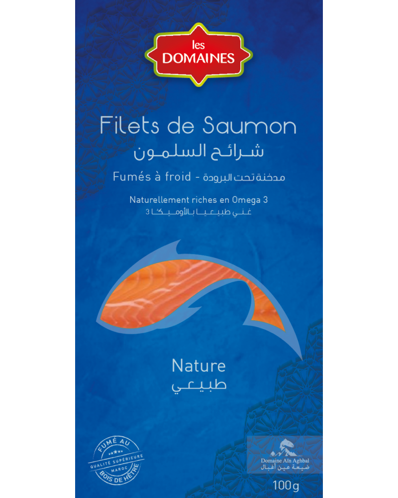 Filet de Saumon fumé Nature