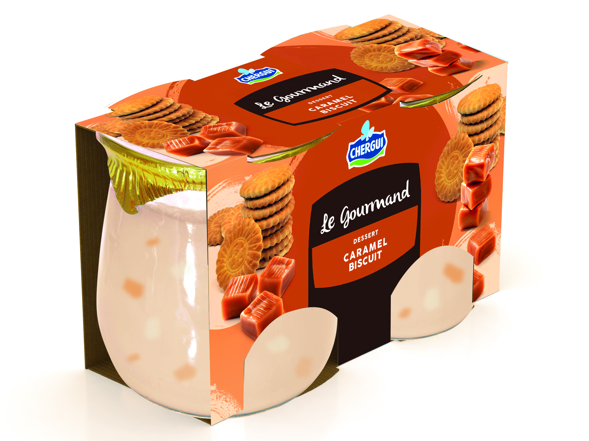 LE GOURMAND  CARAMEL BISCUIT