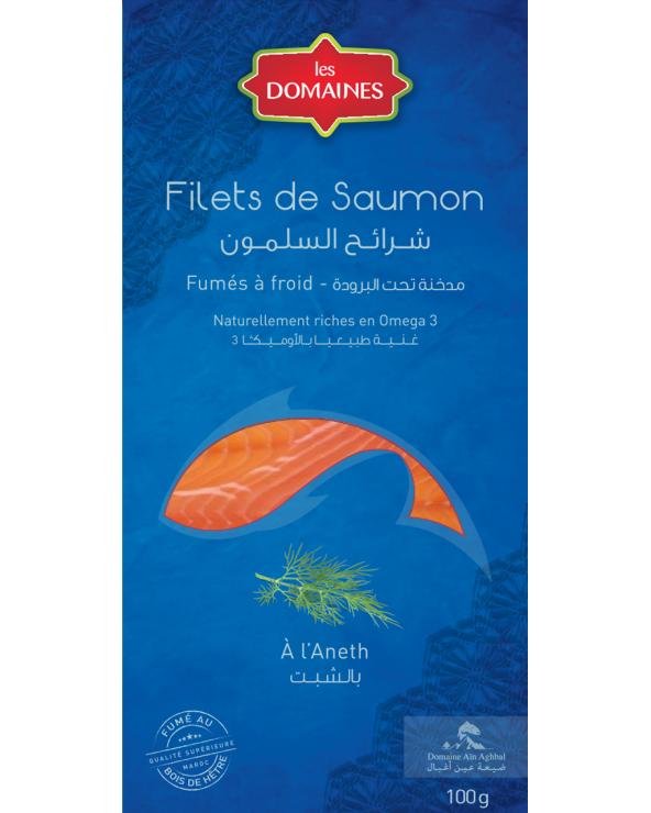 Filet de Saumon fumé à l'aneth