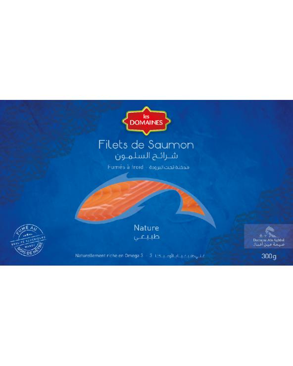 Filet de saumon fumé Nature