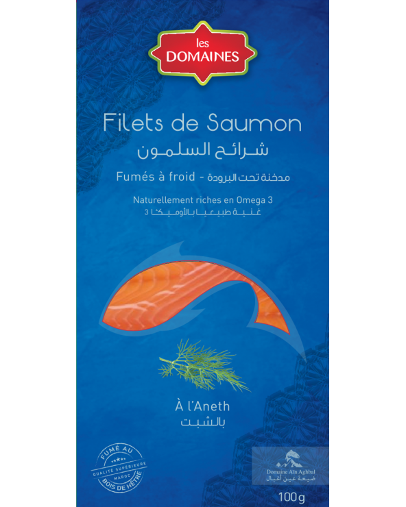 Filet de Saumon fumé à l'aneth