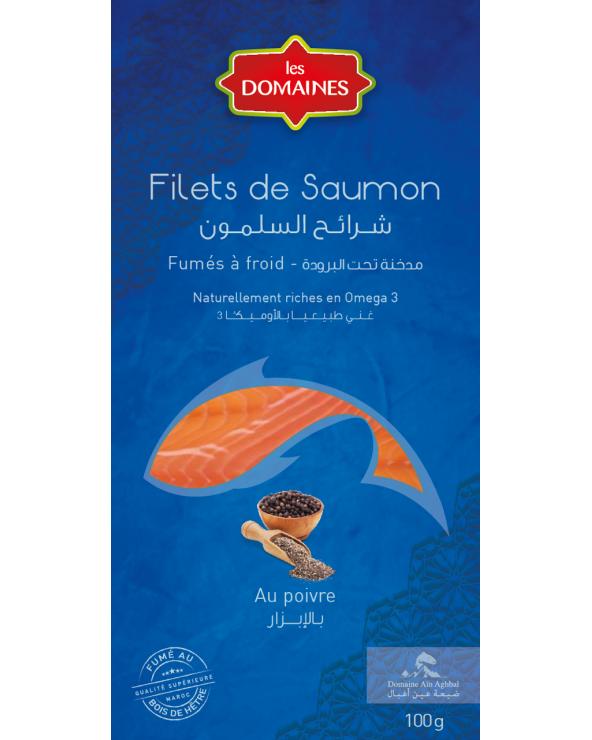 Filet de Saumon fumé au poivre