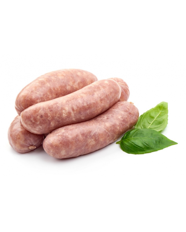 Saucisses de poulet fermier - Premium